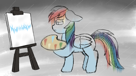 Write Your Name In Blue by Rainb0wDashie