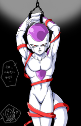 tied up by frieza-love