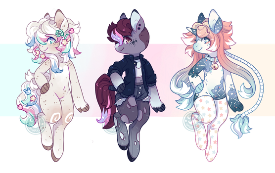 Horsie Adopts ~ (Closed) by LunarAdopts