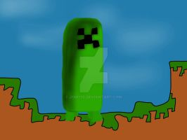 Creeper (print) by jomy10