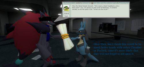 Ask Shiny and the pokemon gang #54 by Firehunter397