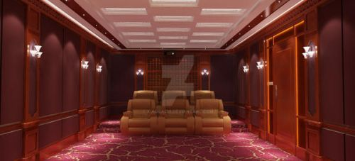 Private video room by xiaobazui