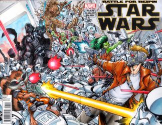 Guardians of the Galaxy versus the Empire. by ToddNauck