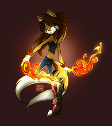 Commission: Fire Dancer by Belen-1999