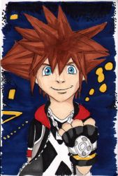 Sora in kh Dream Drop Distance by land3