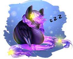 Little Nap + Speedpaint by xKittyblue