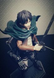 Eren Jeager _ Figure #2 by small-yeast-dumpling