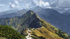 Mountainscape by Fleret