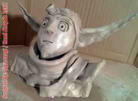 Jak II Bust from Naughty Dog's Jak and Daxter2 PS2 by Giguruzugi