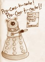 If I were a Dalek by MotherofOnity