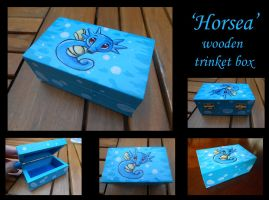 ~FOR SALE~ Horsea wooden box