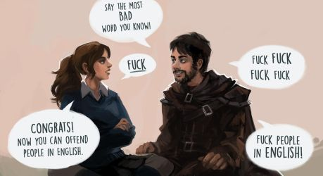 Say the most bad word you know by Majoh