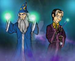 Disney Sorcerers by LeoMitchell