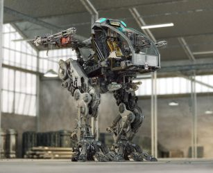 Exposed Mech by sanfranguy