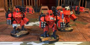 Broadside Team Horizon, Nemesis Contingent by NyQuilDreamer