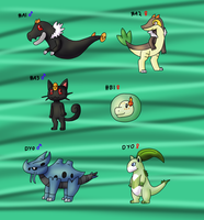 .:PKMNation - Clutch 54 CLOSED:. by Malla123