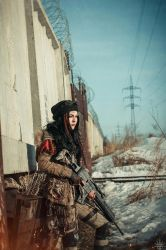 Winter postapocalypse by mysteria-violent