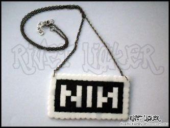 8-Bit NIN Necklace MK-II by angeleyezxtc