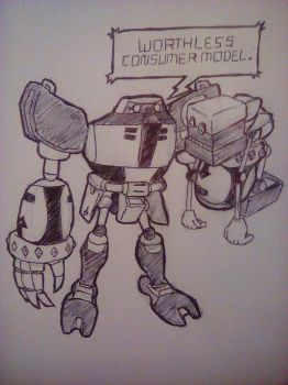 E-123 Omega and Cubot by PKstarship