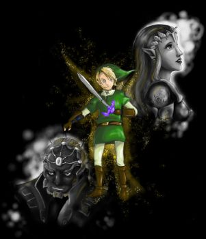 The legend of Zelda by Camaryllis