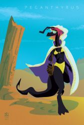 Sands, Lone And Level by egypturnash