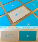 Premium Minimal Business Card by Freshbusinesscards