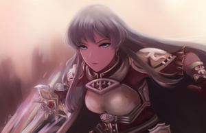 Fire Emblem - The Princess of Renais, Eirika by leonmandala