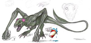 SPOILER Cloverfield Monster 2 by Tophoid