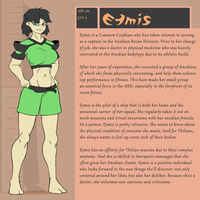 Character Bio (Eymis) by SYRSA