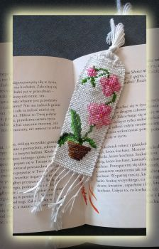 Orchid Bookmark by lonely--soldier