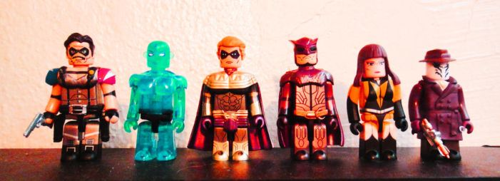 Watchmen Figurines by neonboy619