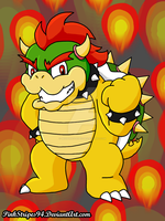King of the Koopas by MissPinkStripes