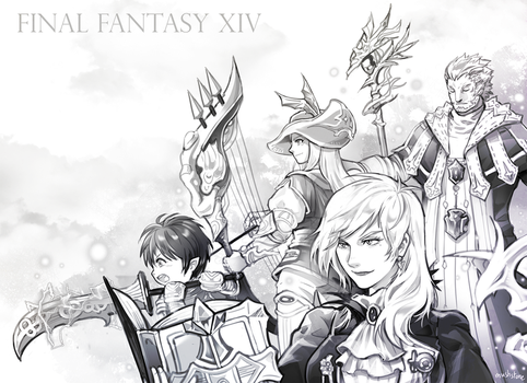 Final Fantasy XIV by Mushstone