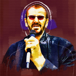 Ringo Starr by peterpicture