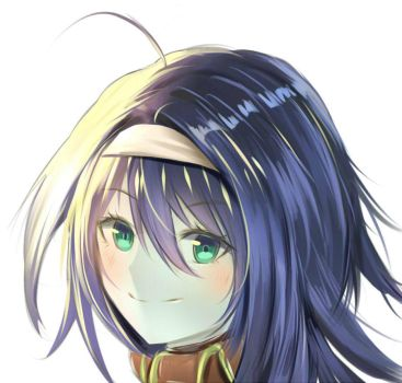 Simple Face (Mia -Fire Emblem Heroes) by Fhilippe124