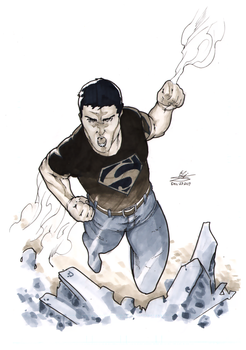 COPIC Superboy by Atlas0