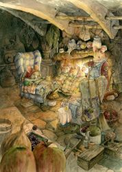 The Mice  the Shoemaker - Print for Sale by GabrielEvans
