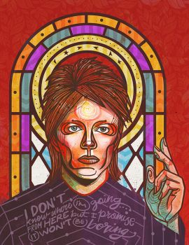 David Bowie by betsyamparan