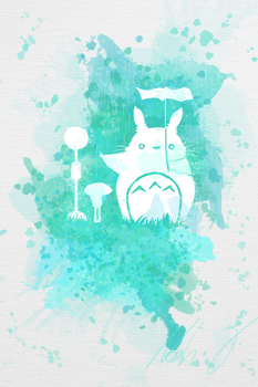 Totoro by Nomater17