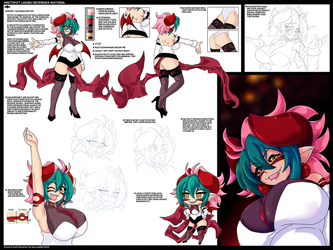heartcore:. ame reference material by tlwelker