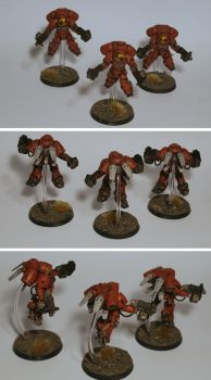 Space Marines Inceptors by half-halfling