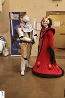 Queen Amidala and Bodyguard by The-Dude-L-Bug