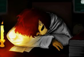 Good Night Gaara by Checker-Bee