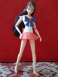 Sailor Mars papercraft by Amber2002161