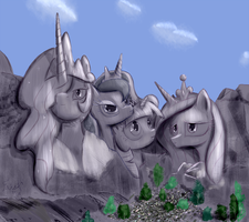 Mount Faustmore by Frist44