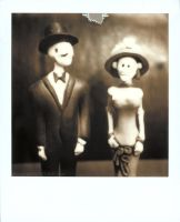 Day of the Dead Couple by ronni