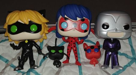 Miraculous Funko Pops Out of Box by Bowser14456