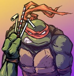 Straw it Raph by JoniGodoy