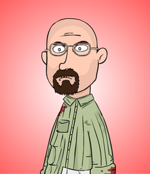 Walter White by munchai