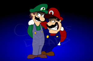 Weegee and Malleo by Nutty-Nutzis